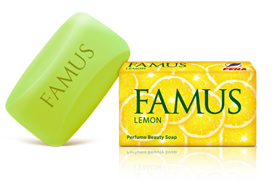 Famus Perfume Beauty Soap Lemon