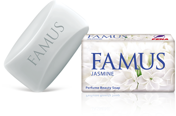 Famus Perfume Beauty Soap Jasmine