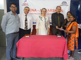 Certificate distribution at Aadhaarshila