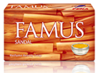 Famus Perfume Beauty Soap Sandal
