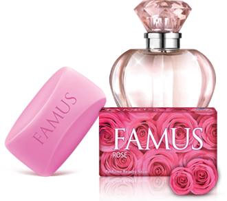 Famus Perfume Beauty Soap